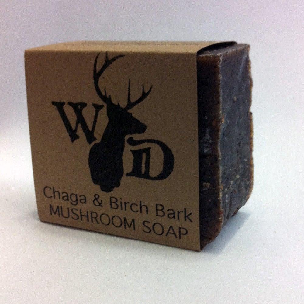how to make chaga soap