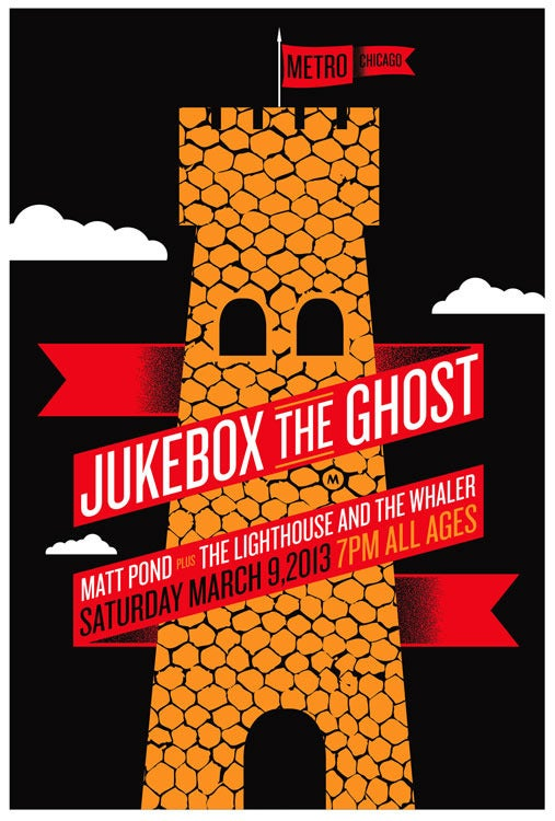 Image of Jukebox The Ghost Rock Poster