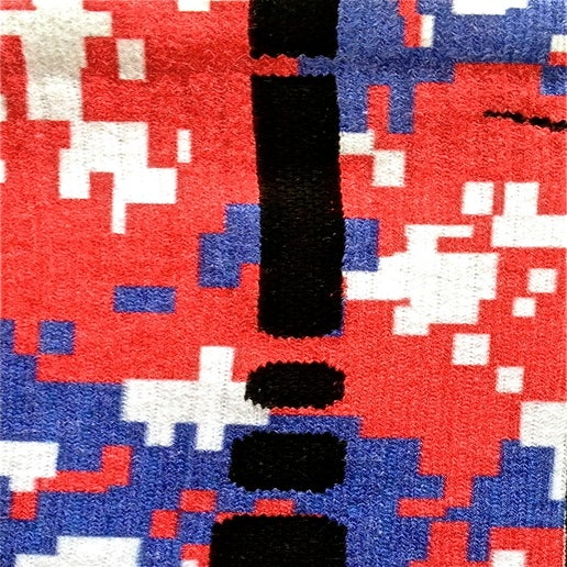 Image of Nike Elite Jayhawks Digital Camo Crew Socks
