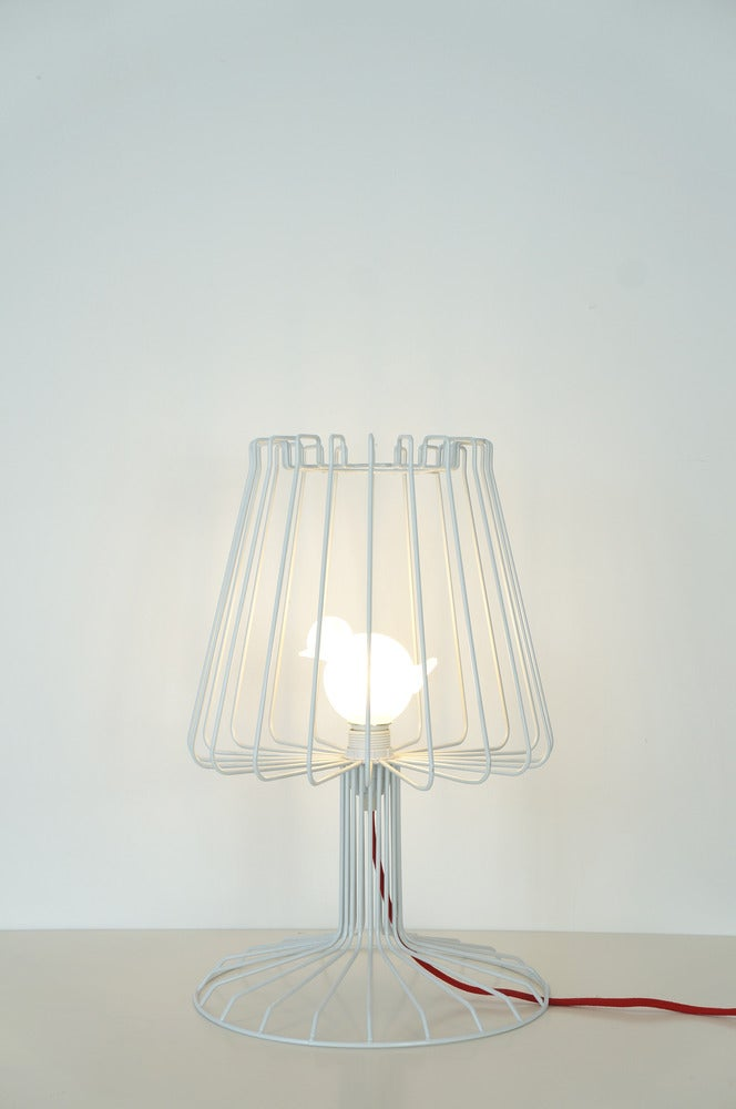 322c — Bird Cage table lamp