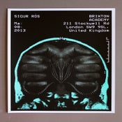 Image of Sigur Ros poster Brixton Academy 03/08/13