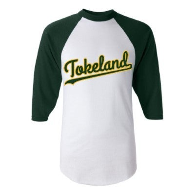 Image of Tokeland Baseball Tee - White