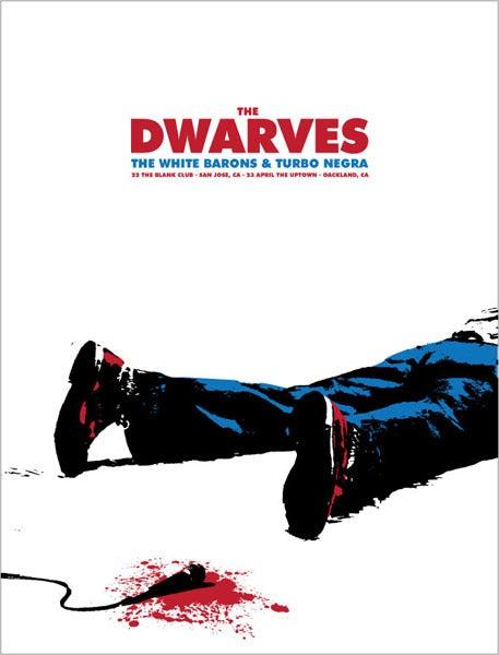 Image of Dwarves - San Jose/Oakland 2008