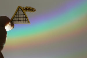 Image of Pyramid Sticker