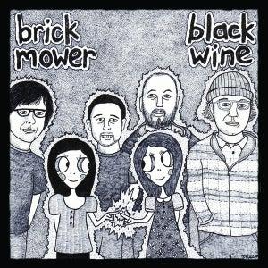 Image of Black Wine/brick mower split 7''