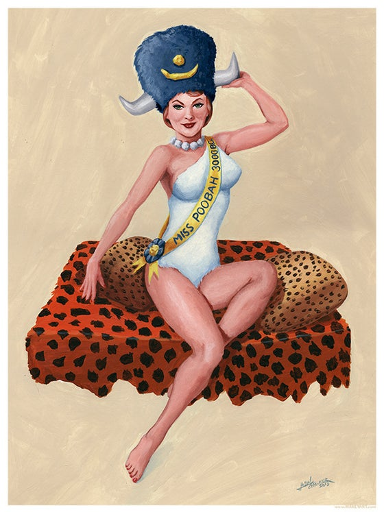 Image of Wilma Pin-Up