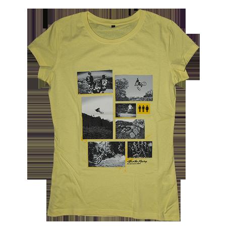 Image of Atherton Racing 'WOMENS photos' T-Shirt - Yellow