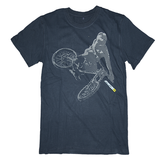 Image of Atherton Racing 'Jump' T-shirt - Black