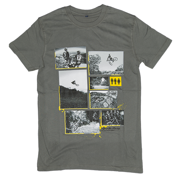 Image of Atherton Racing 'Photos' T-Shirt - Grey