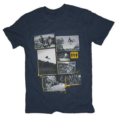 Image of Atherton Racing 'Photos' T-Shirt -  MEN'S Navy