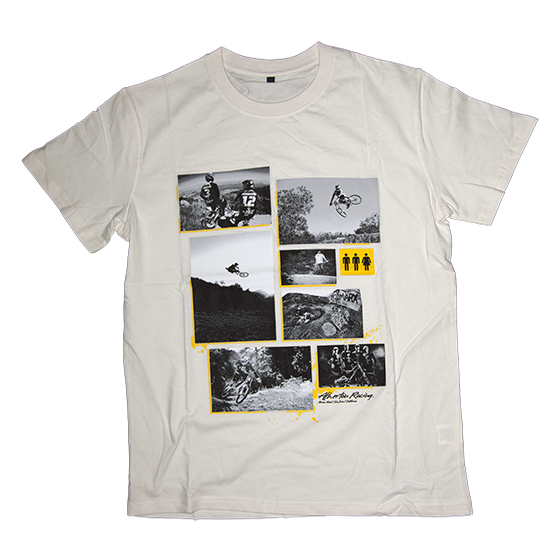 Image of Atherton Racing 'Photos' T-Shirt - Cream