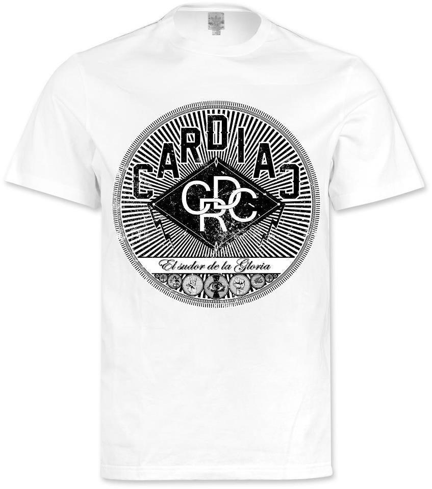 Image of t-shirt 'El sudor de la Gloria' white