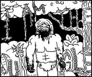 Image of I Am the Jungle Minicomic