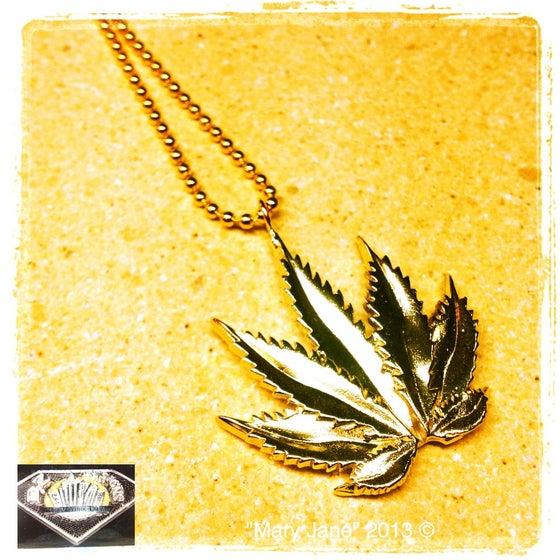 "Image of Mini ""Mary Jane"" pendant"