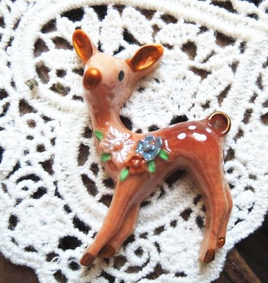 Image of Doe a Deer- bambi brooch
