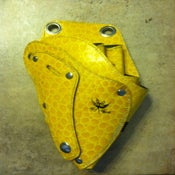 Image of Yellow Crocodile Shears Tool Holster