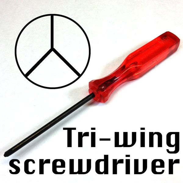 Image of Tri-wing screwdriver