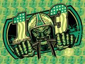 Image of Black-Lagoon Silkscreen Poster