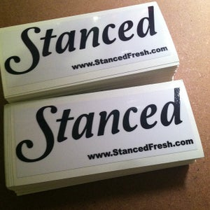 Image of Stanced Stickers