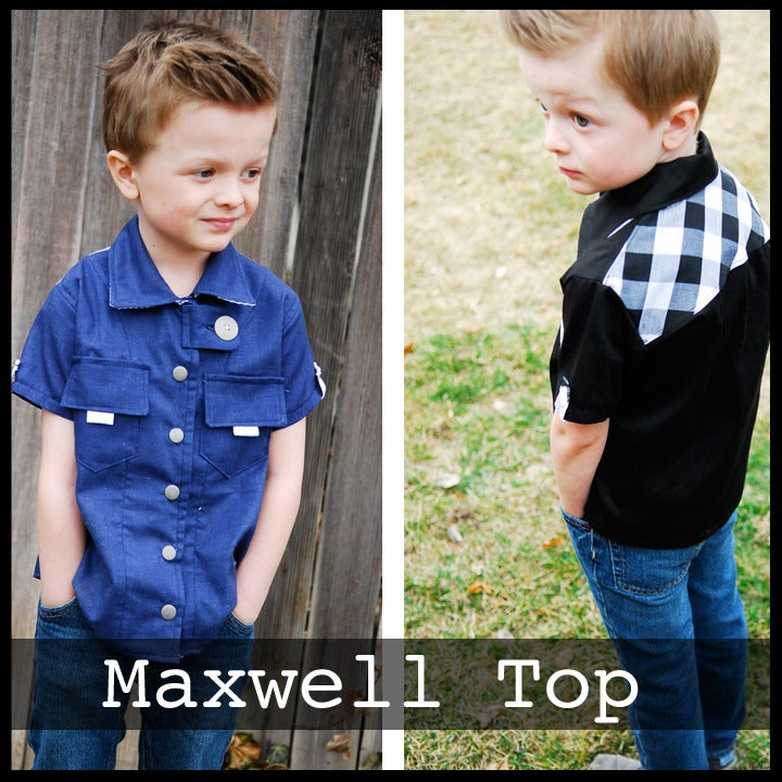 Image of Maxwell Shirt Pattern