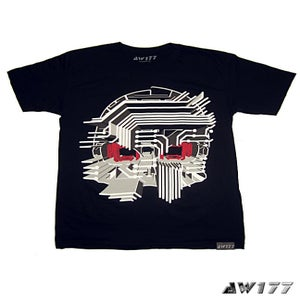 "Image of AW177 ""Circuit Death"" Limited Edition T-Shirt"