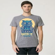 Image of Owl Shirt - Athletic Grey