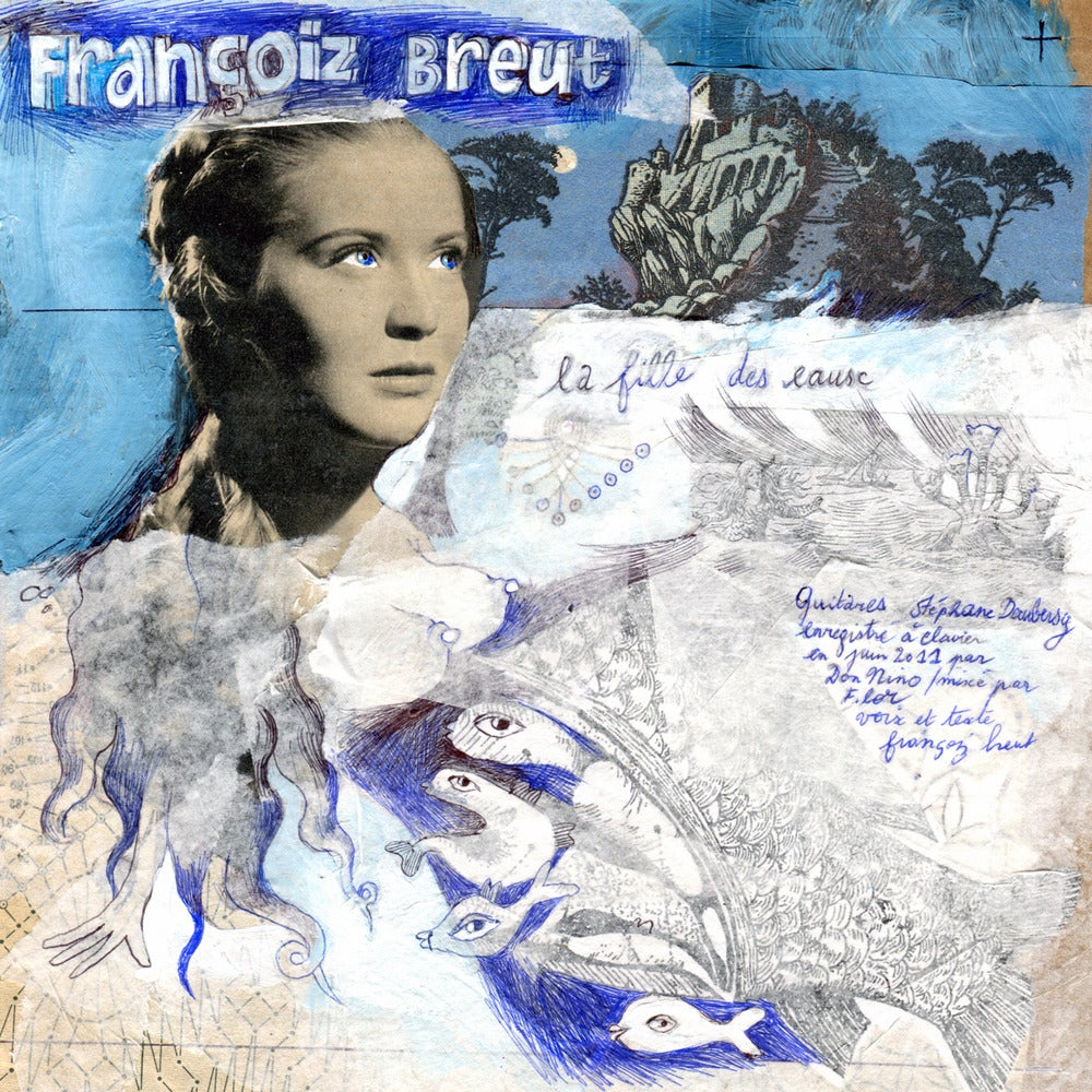 Image of Françoiz Breut / Fránçois and the Atlas Mountains - La Fille des Eaux (7'')