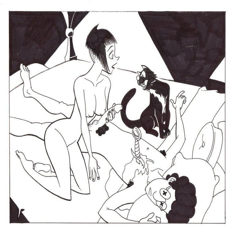 Image of Live Nude Ghouls Page 14, Panel 1