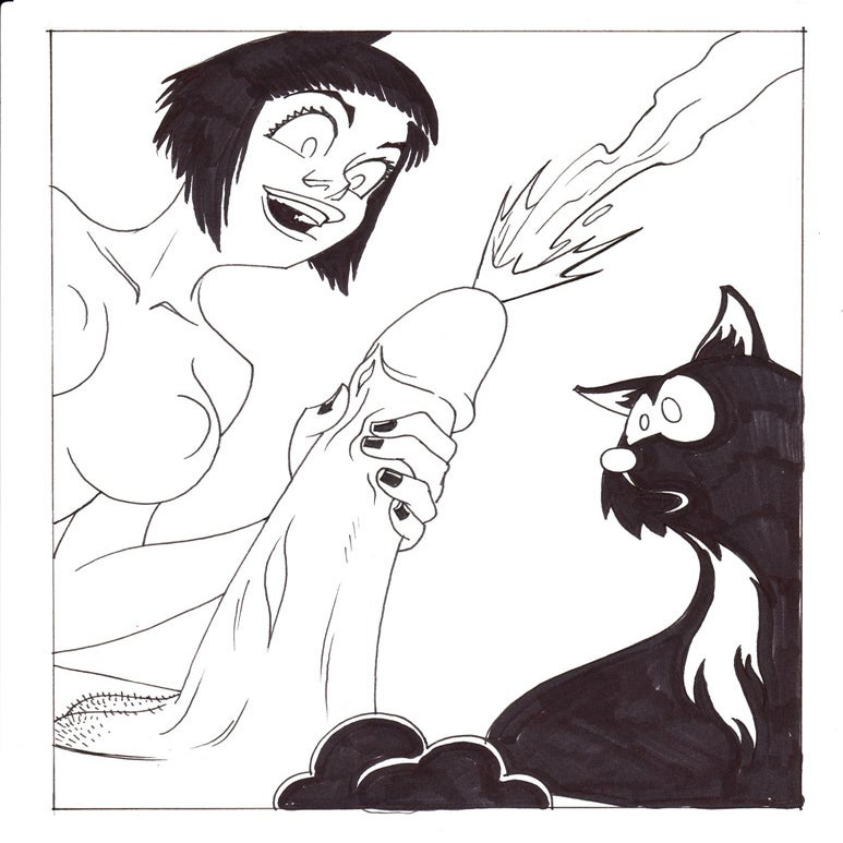 Image of Live Nude Ghouls Page 14, Panel 2