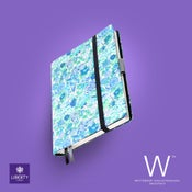 Image of Whitebook Collection Liberty London H032, Elysia Blue, 240p. (fits iPad/Mini)