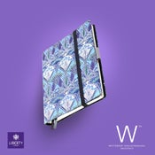 Image of Whitebook Collection Liberty London H034, Blue Lanthe print, 240p. (fits iPad/Mini)