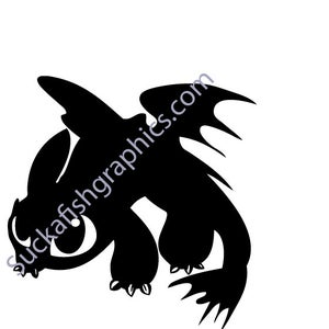 Image of Toothless Dragon