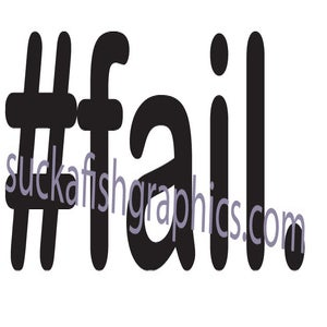 Image of #fail.