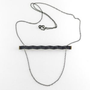 Image of rigid bar necklace