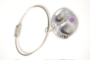 Image of fingerprint keyring