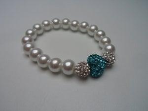 Image of Crystal Heart Bracelet
