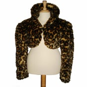 Image of FUR BOLERO JACKET