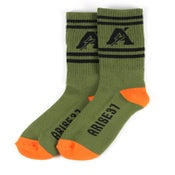 Image of Thunder Socks- Olive