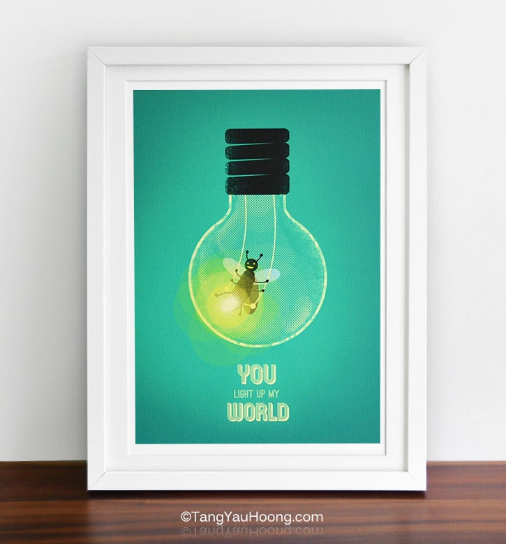Image of You Light Up My World