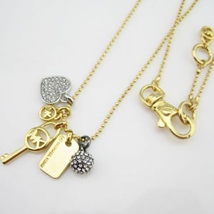 Image of MK NECKLACE #KEY&HEART
