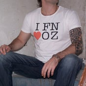 Image of I FN LOVE OZ t-shirt
