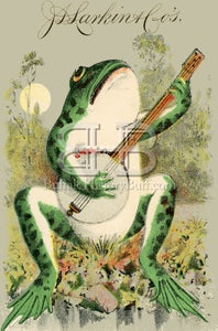Image of Larkin - Frog Playing the Banjo
