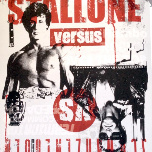 Image of SCHWARZENEGGER Vs STALLONE by Ikon