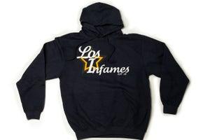 """Image of Infamous """"Los Infames"""" Navy Hoodie"""