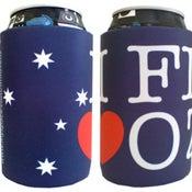 Image of I FN LOVE OZ Stubby Cooler