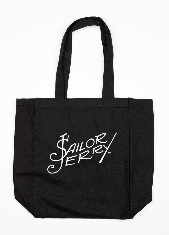 Image of Sailor Jerry Tote Bag - Signature - Black