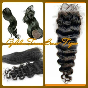 Image of Virgin Frontals and Closure Pieces