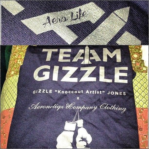 Image of Team Gizzle x AEROLIFE Tee Boxing Tee