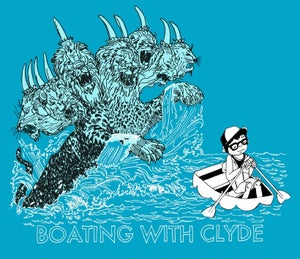 Image of Boating with Clyde Season One T-Shirt - BRIGHT BLUE