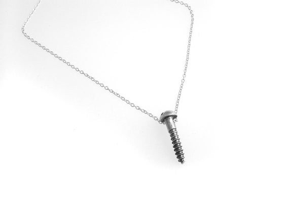 Image of screw necklace